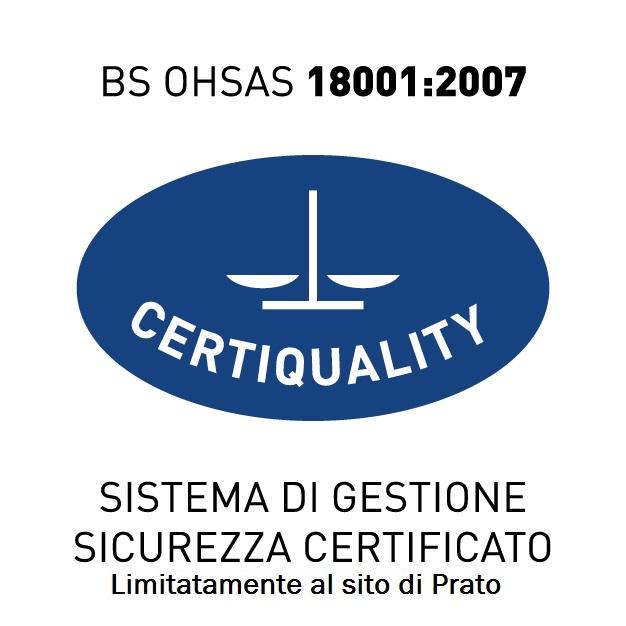 Certificato 18001-PO